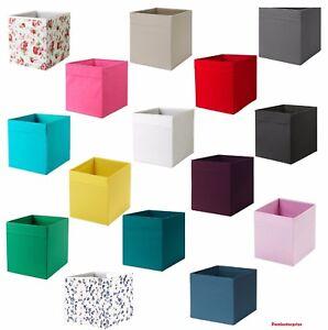 Ikea-Drona-Caja-almacenamiento-De-tela-acelerar-Kallax-Estanteria-unir-cajas-de-juguetes-estante