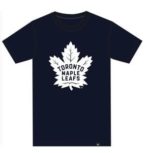 3907754727cf Toronto Maple Leafs Men's 47 Branded Navy Primary Team Logo T-Shirt ...