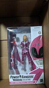 Power Rangers Lightning Collection Pink Metallic Figure