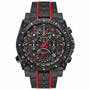 Bulova-98B313-Men-039-s-Precisionist-Black-Quartz-Watch