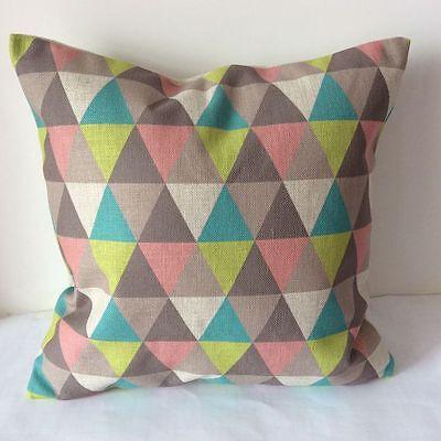 Vintage Geometries Cotton Linen Cushion Cover Throw Pillow For Home Decor S2338