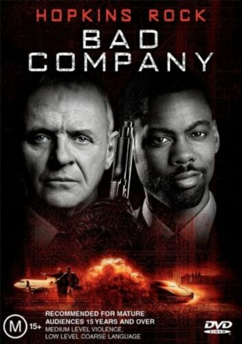 1 of 1 - Bad Company (2001) Anthony Hopkins - NEW DVD - Region 4
