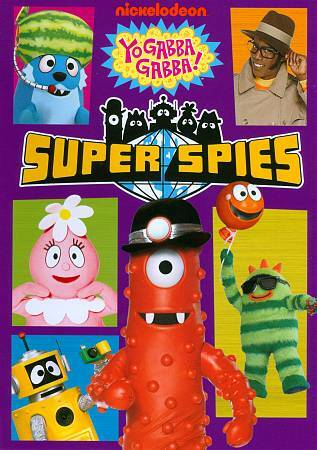 Yo Gabba Gabba Super Spies Dvd 2012 For Sale Online Ebay