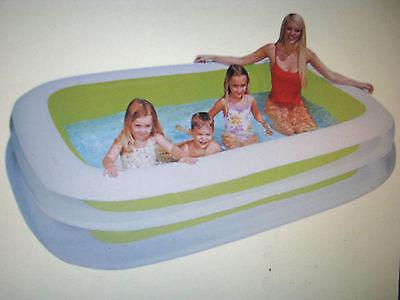 pool Intex Schwimmbecken Planschbecken Kinderpool Intex 262x175x56 cm