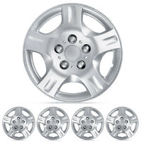 Hubcaps 15 Inch 4 Piece Set Full Lug Skin Rim Covers Replacement on sale