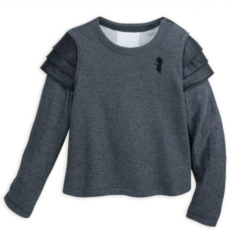 Disney Pixar EDNA MODE Incredibles 2 Sweater Jacket Fleece Pullover Crop Top XS