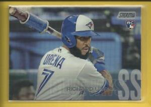 Richard-Urena-RC-2018-Topps-Stadium-Club-Rookie-Card-102-Toronto-Blue-Jays-MLB