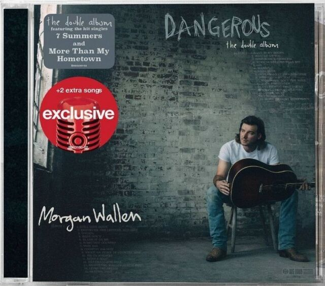 "MORGAN WALLEN: Dangerous The Double Album (Target Exclusive, CD) NEW & ""SEALED"""