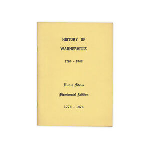 History-of-Warnerville-vintage-1976-booklet-of-the-Schoharie-County-town