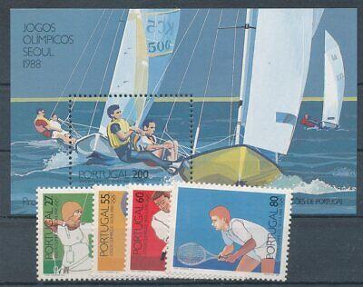 291099 Portugal Nr.1762-1765+block 60** Olympiade BüGeln Nicht Briefmarken Motive
