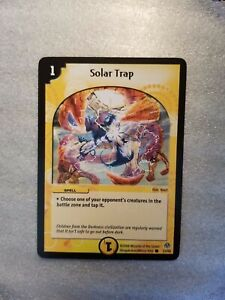 Duel Masters SOLAR RAY Shockwaves Version 25//110 Mint and Never Played