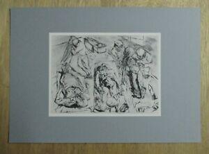 Max-Beckmann-serigraphic-print-039-Das-Leichenhaus-039-1915-Mint