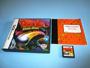 Peggle-Dual-Shot-Nintendo-DS-Lite-DSi-XL-3DS-2DS-w-Case-amp-Manual