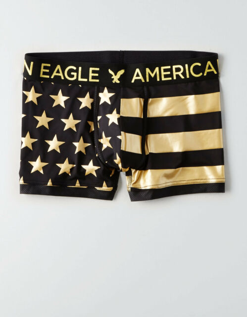 """Mens American Eagle HOT PINK  6/"""" Boxer Brief Underwear Sz XL Waist 40/""""-42/"""""""