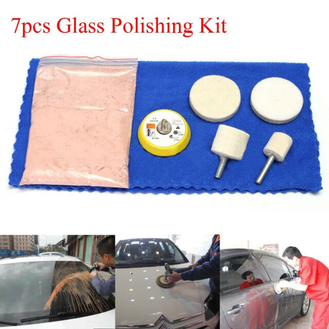 70g Cerium Oxide Windscreen Scratch Remover Glass Polishing Kit Pad Wheel Tools Back To Search Resultstools