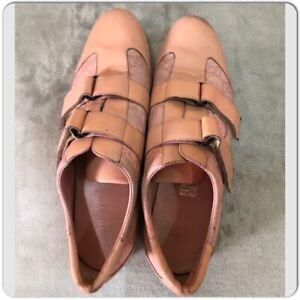 Vintage GUCCI Pink Monogramed Leather