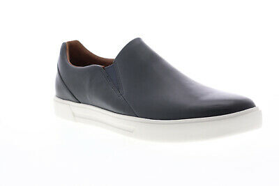 Clarks Un Costa Step 26141613 Mens Blue Leather Slip On Trainers Shoes