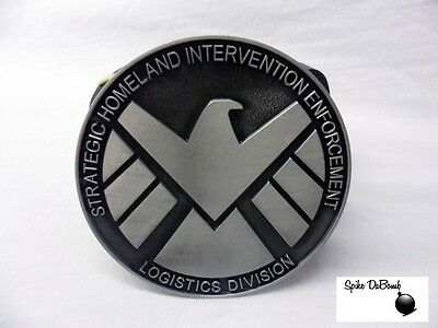 MARVEL'S AGENTS OF SHIELD MODERN LOGO/ SYMBOL BUCKLE WITH BELT *NEW*