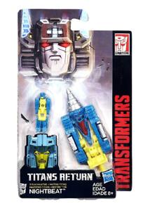 TRANSFORMERS Titans Return Titan Masters Nightbeat Hasbro B4698 Spielfigur figur