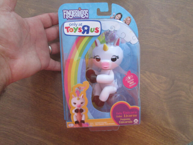 100 Authentic Wowwee Fingerlings Gigi Unicorn Toys R Us Ebay