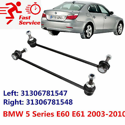 Pair Front Stabiliser Anti Roll Bar Drop Links for BMW 5 Series E60 Soloon 03-10