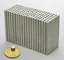 100 500pc 6x3mm Neodymium Disc Super Strong Rare Earth N35 Small Fridge Magnets