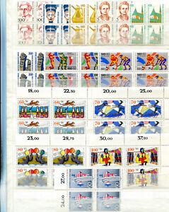 Berlin ** - Vol. 1989 ** - 4er Block-KW 408,-- € (40167)