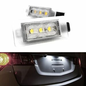 ECLAIRAGE-PLAQUE-LED-PEUGEOT-208-2008-308CC-207CC-308-2-508-BERLINE-BREAK-BLANC