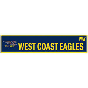 West-Coast-Eagles-AFL-Tin-Street-Sign-AFL-OFFICIAL-MERCHANDISE