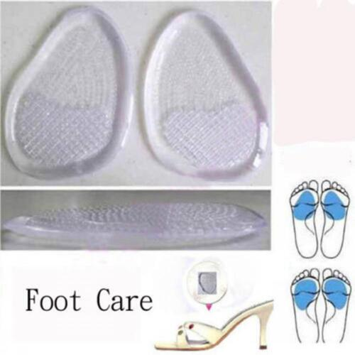 Woman Lady Silicone Gel Cushion High Heel Party Insert Insoles Shoes Pads