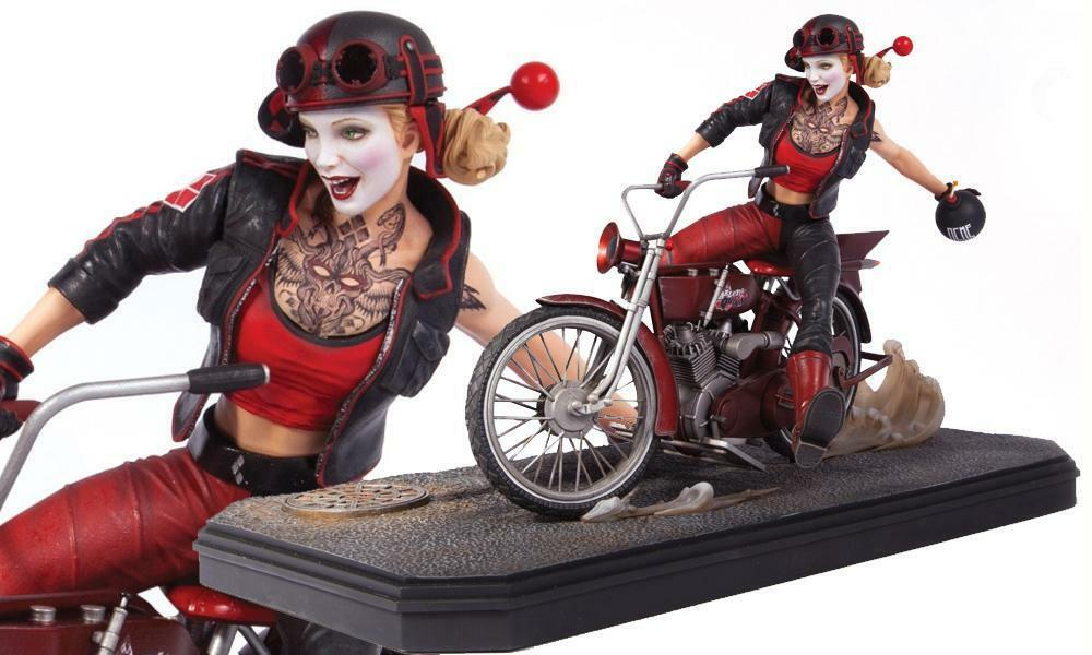 Gotham City Garage Harley Quinn estatua DC COMICS COLECCIONABLES escuadrón de suicidio