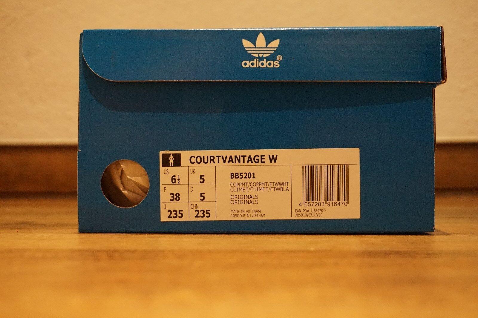 Adidas Courtvantage - EUR 38 NEU - US 6.5 - NEU 38 - NEW - DoubleBoxed f5480f