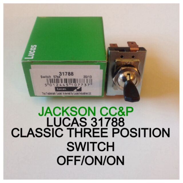 Lucas 31788 57sa 3 Position Toggle Light Switch Genuine | eBay