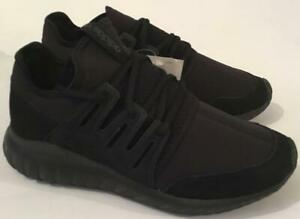 the best attitude c94f5 79d1c Details about ADIDAS TUBULAR RADIAL TRAINERS - BLACK - S80115 - BRAND NEW  IN THE BOX