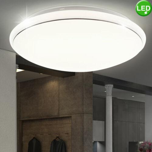 LED Decken Lampe Energiespar Beleuchtung Gäste Zimmer Flur Strahler Leuchte weiß