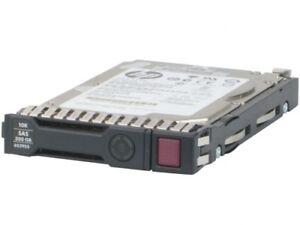 "HP 300 GB 6G 10K SAS 2.5"" SC Gen8/Gen9 Hot Swap HDD 652564-B21 653955-001"