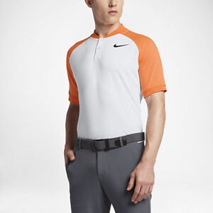 5cdb891b NWT Nike Raglan Slim Fit Golf Polo Sz L (833079 100) MM TW Rory Day ...