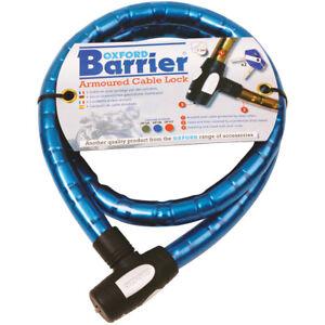 Bicycle Mountain Bike MTB Security Spiral Cable Lock 2 Keys 1.5 Meter 10mm
