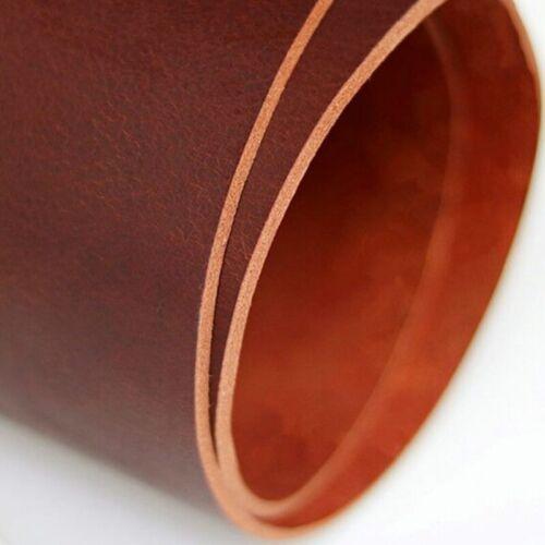 Hágalo usted mismo cable de Cuero Genuino Real Ocultar Correa Cuerda Cadena De Tela Artesanal Material Suave