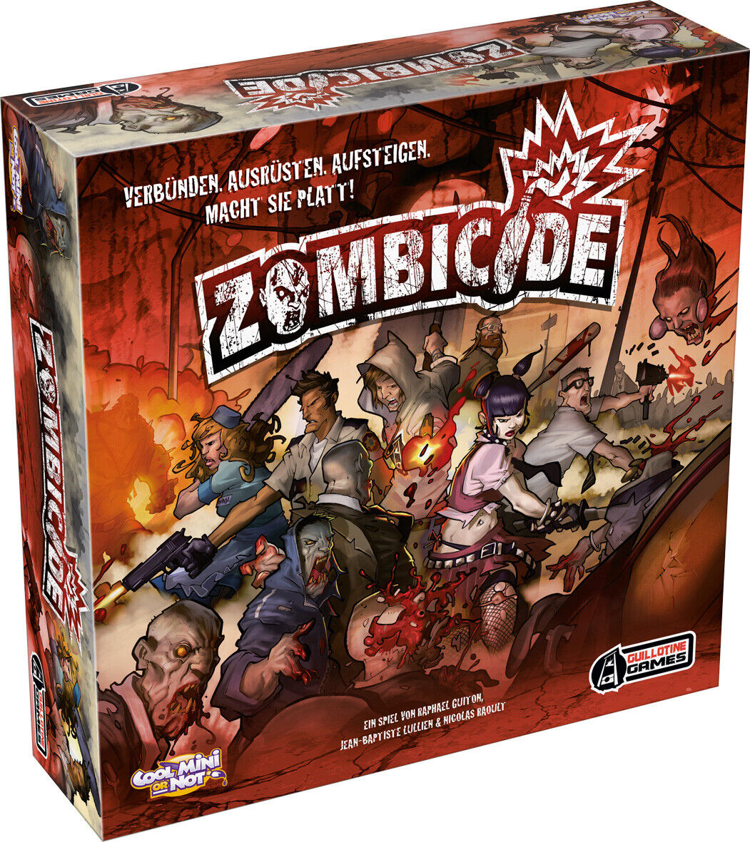 Zombicide temporada 1   motivo juego   Cool mini or not (CMON)