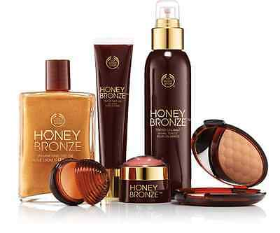 The Body Shop Honey Bronze Range Brand New