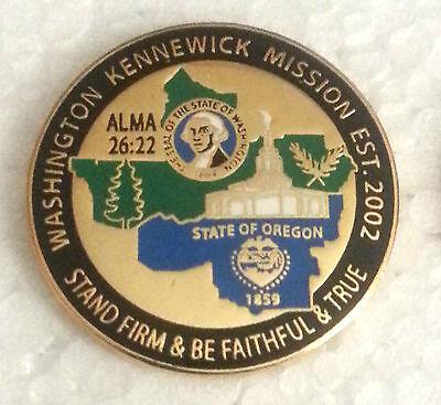 Washington Kennewick Mission Necklace LDS