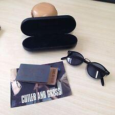 Authentic Cutler & Gross 1008 Black Occhiali da sole - £ 310