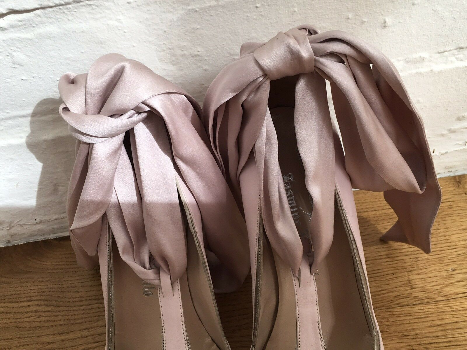 Nicholas Kirkwood Jasmine di Milo Tied Schuhes UK Pumps Größe 40 UK Schuhes 7 US 10 0c33c1
