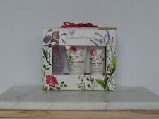 Crabtree & Evelyn Rosewater Gift Set 3pc Shower GEL Body Lotion Cream Women