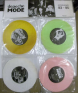 Depeche-Mode-Interviews-83-85-NEW-Ltd-edition-4-PACK-COLOURED-vinyl-7-034-singles