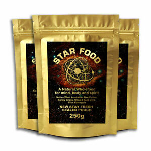 Details about Star Food Triple Pack (750g) Monatomic Gold, Ormus, MUFKUTZ,  M State Superfood