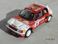 PEUGEOT 205 T16 Gr.B BELGA 1/18 Ottomobile  Turbo 16 GTI Rallye