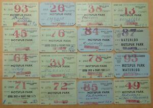 80-plus-1950s-British-Rail-ticket-collection-Motspur-Park-amp-destinations-etc