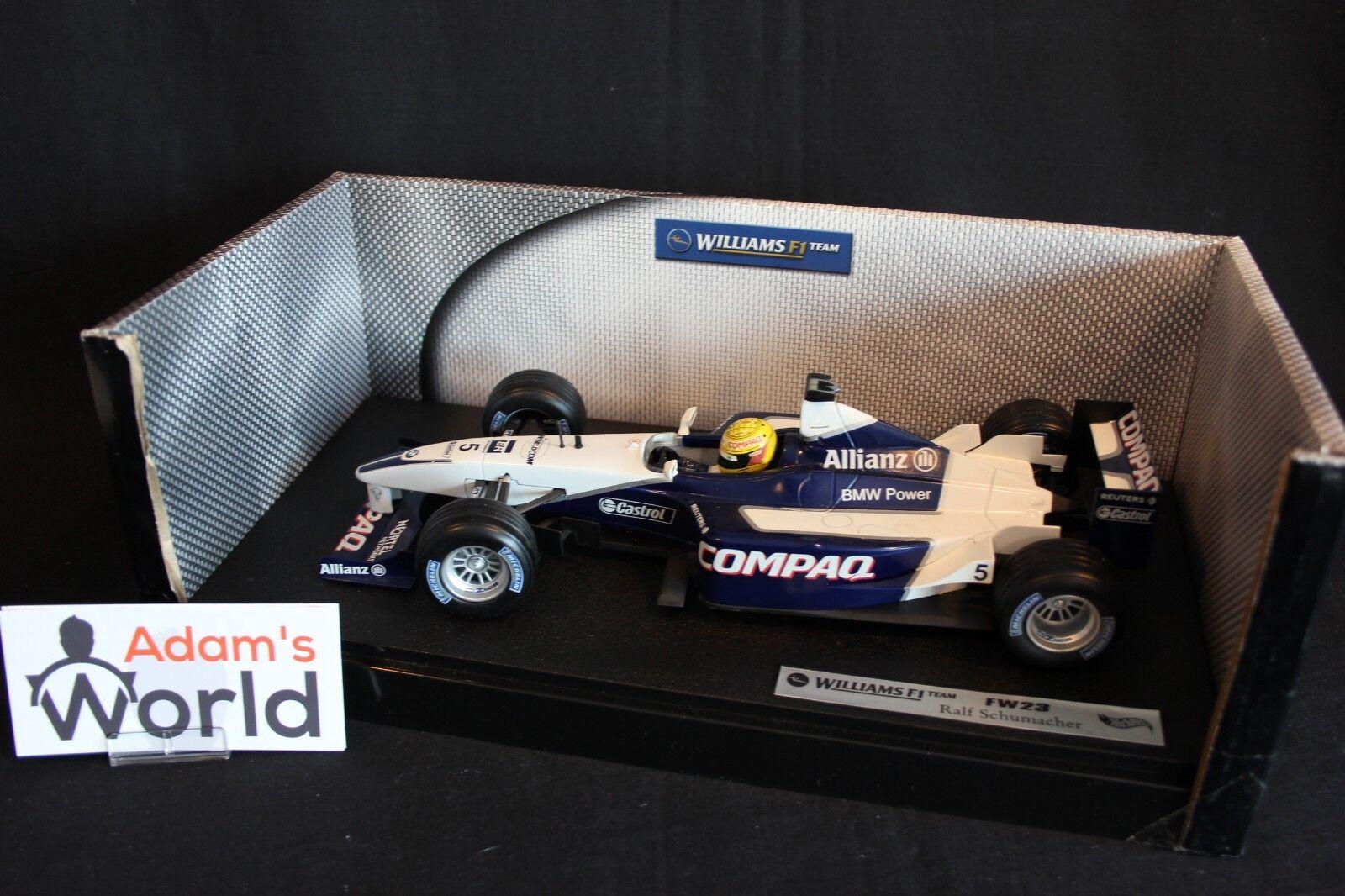 Hot Wheels Williams BMW FW23 2001 1 1 1 18 Ralf Schumacher (GER) 96388a